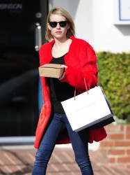 Emma Roberts - out in West Hollywood 1/28/14