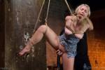 Suspended Anal Invasion for Newbie Blonde Squirting Slut - Kink/ HogTied (2014/ SiteRip)