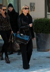 Jessica Simpson - Leaving her hotel in NYC 1/29/14