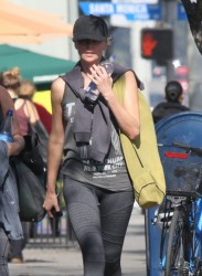 Charlize Theron - out in LA 1/29/14