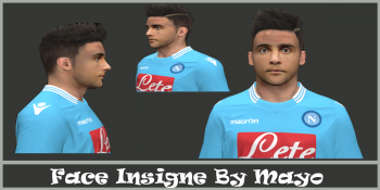 Download Insigne Face By Mayo For PES 2014
