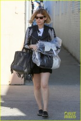 Kate Mara - out in Beverly Hills 1/29/14