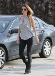 Audrina Patridge - out in West Hollywood 1/31/14