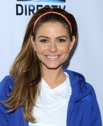 Maria Menounos - DirecTV Celebrity Beach Bowl in NYC 2/1/14
