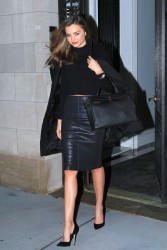 Miranda Kerr - out in NYC 1/31/14
