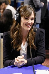 Jennifer Garner - SiriusXM Super Bowl XLVIII Radio Row in NY 1/31/14
