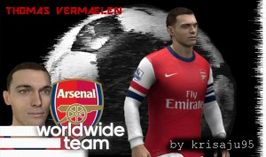Download Thomas Vermaelen Face by krisaju95