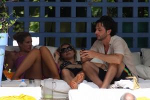 Sarah Chalke - Miami Beach June 29, 2008 - Bikini Candids