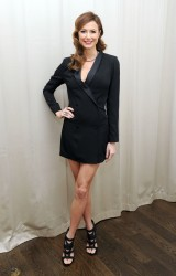 Stacy Keibler - backstage VH1's Super Bowl Blitz in NY 1/30/14