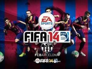 Download FC Barcelona Background For FIFA 14