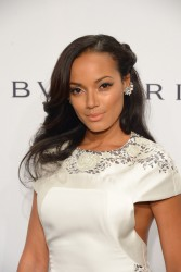 Selita Ebanks - 2014 amfAR New York Gala in NYC 2/5/14