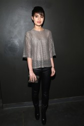 Sami Gayle - Rebecca Vallance F/W Presentation in NYC 2/7/14