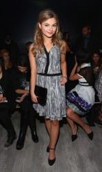 Stefanie Scott - Emerson By Jackie Fraser-Swan 2014 Fashion Show in NYC 2/7/14