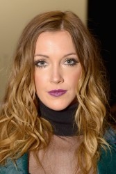 Katie Cassidy - Katya Zol F/W 2014 Fashion Show in NYC 2/9/14
