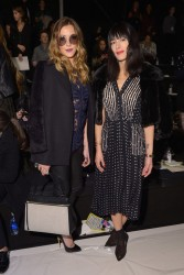 Katie Cassidy - Lela Rose F/W 2014 Fashion Show in NYC 2/9/14