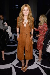 Bella Thorne - Diane Von Furstenberg F/W 2014 Fashion Show in NYC 2/9/14