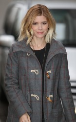 Kate Mara - at the London Studios 2/10/14