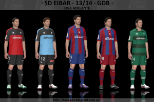 SD Eibar 2013-2014 GDB [v2] by Txak - Download PES 2014 Patch, PES