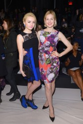 Kelly Rutherford - Nanette Lepore fashion show 2/12/14