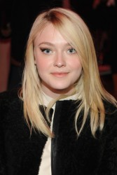 Dakota Fanning - Proenza Schouler Fashion Show in NYC 2/12/14