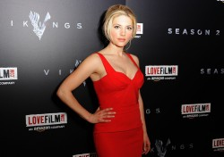 Katheryn Winnick - 'Vikings' Season 2 premiere in London 2/13/14
