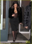 Kim, Khloe & Kourtney Kardashian - Going to 1 Oak Nightclub in NYC 2/16/14