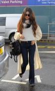 Selena Gomez - At Heathrow Airport in London 2/18/14