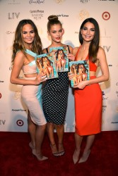 Nina Agdal - Club SI Swimsuit At LIV Nightclub Fontainebleau Miami Beach - 2/19/14