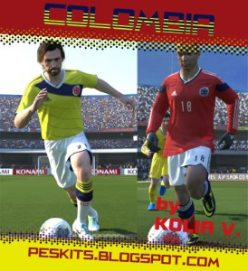 Download Colombia 2014 GDB Kits by Kolia V.