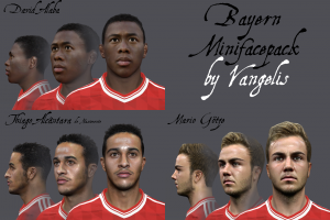 Download Bayern PES14 MiniFacepack by Vangelis