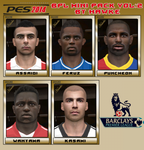 Download PES 2014 BPL Mini Pack Vol. 2 by Hawke