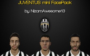 Download Juventus mini FacePack by Nizamawesome13