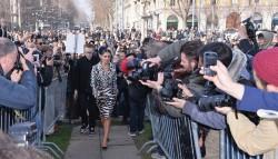 Cheryl Cole - Roberto Cavalli F/W fashion show in Milan 02/22/14