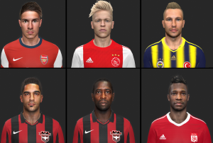 Download PES14 First Facepack by Panna