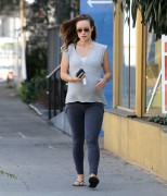 Olivia Wilde Leaves Her Pilates Class in West Hollywood 24.02.14