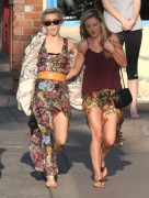 Julianne Hough - Hanging out with friends in Manhattan Beach 2/24/14
