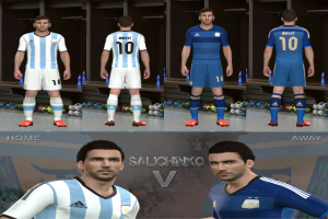 Download Argentine Kits World Cup 2014 Gdb By Salichinko