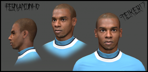 Download Fernandinho Face By Teiker17