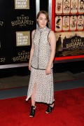 Saoirse Ronan - The Grand Budapest Hotel premiere, New York 2/26/14