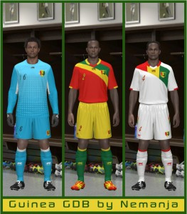 Download Guinea 2014 GDB Kit by Nemanja