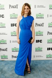 Stana Katic - Film Independent Spirit Awards in Santa Monica - 3/1/14
