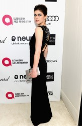 Alexandra Daddario - 2014 Elton John AIDS Foundation Oscar Party in West Hollywood 3/2/14
