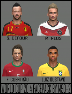 Download PES2014 World Cup Facepack by M90+2