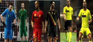 Download PES 2013 Belgium World Cup GDB Kits by argyris