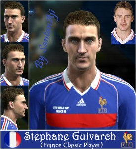 Download Stephane Guivarch Face By santanAji