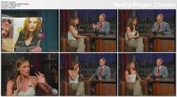 JENNIFER GARNER (vhs) - Letterman - (unknown date)