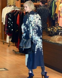 Ashlee Simpson - Shopping in Hollywood 3/7/14