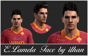 Download PES 2013 E. Lamela Face by ilhan