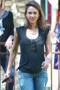 Jessica Alba - at Coldwater Canyon Park in Beverly Hills March 8, 2014