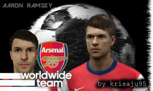 6943e2313336273 Adam Lallana and Aaron Ramsey by krisaju95